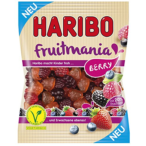 Haribo Fruitmania Berry 1 Pack 175g Imported from Germany