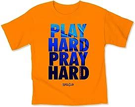 Kerusso Play Hard Kids T-Shirt - Christian Fashion Gifts
