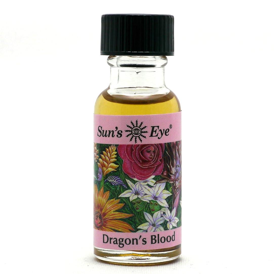 顔料遠近法長方形【Sun'sEye サンズアイ】Specialty Oils(スペシャリティオイル)Dragon's Blood Oil(ドラゴンの血)