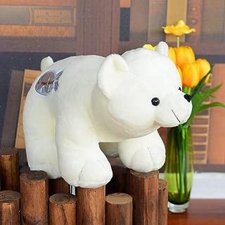 SXPC Polar Bear Doll Plush Toy Small White Bear Doll Children's Gift