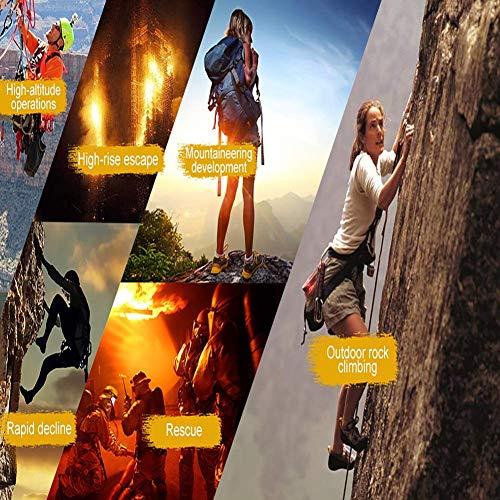 zvcv Half Body Climbing Harness Belt, Thicken Rock Climbing Harness For Men Women, For High Mountaineering Rock Climbing