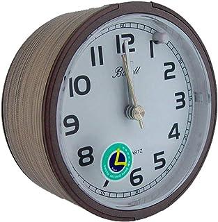 Bonett väckarklocka rund med slummerfunktion och lätt tyst kvartsrörelse T1701HH