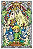 The Legend Of Zelda (Stained Glass) - Póster (61 x 91,5 cm)