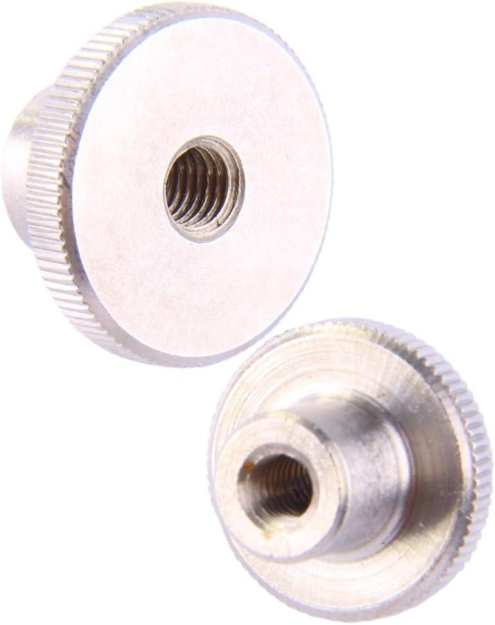 DERING R/ändelmuttern M2 hohe Form DIN 466 Edelstahl A1 30 St/ück rostfrei