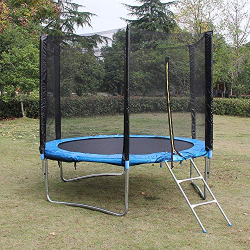 Kinderen Trampoline met Safety Enclosure Net Spring Pad, Zipper, Heavy Duty stalen frame, Mini Trampoline voor binnen/buiten, grote giften voor kinderen