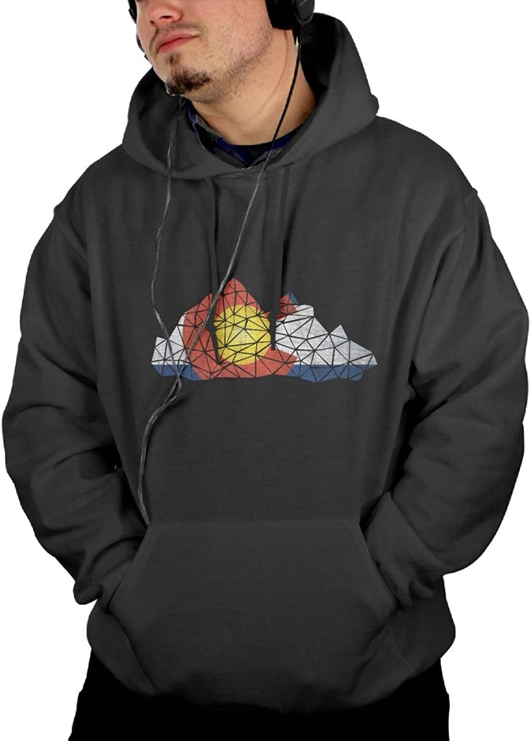 Clouds colorado State Flag Navy Hoodie Best Personality colorful