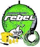Airhead Rebel Kit | 1 Rider Towable Tube w/Rope & Pump