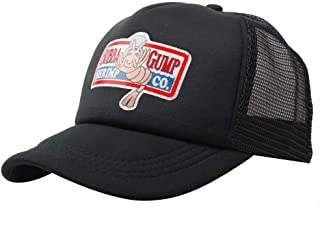 wondeful Adjustable Bubba Gump Baseball Cap hat Mesh Cap (Black)