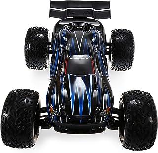 JLB Racing Cheetah 21101 1/10 4WD RC Brushless Off-Road Truck RTR 80-100km/h with 120A ESC 3670 2500KV Brushless Motor Wheelie Function