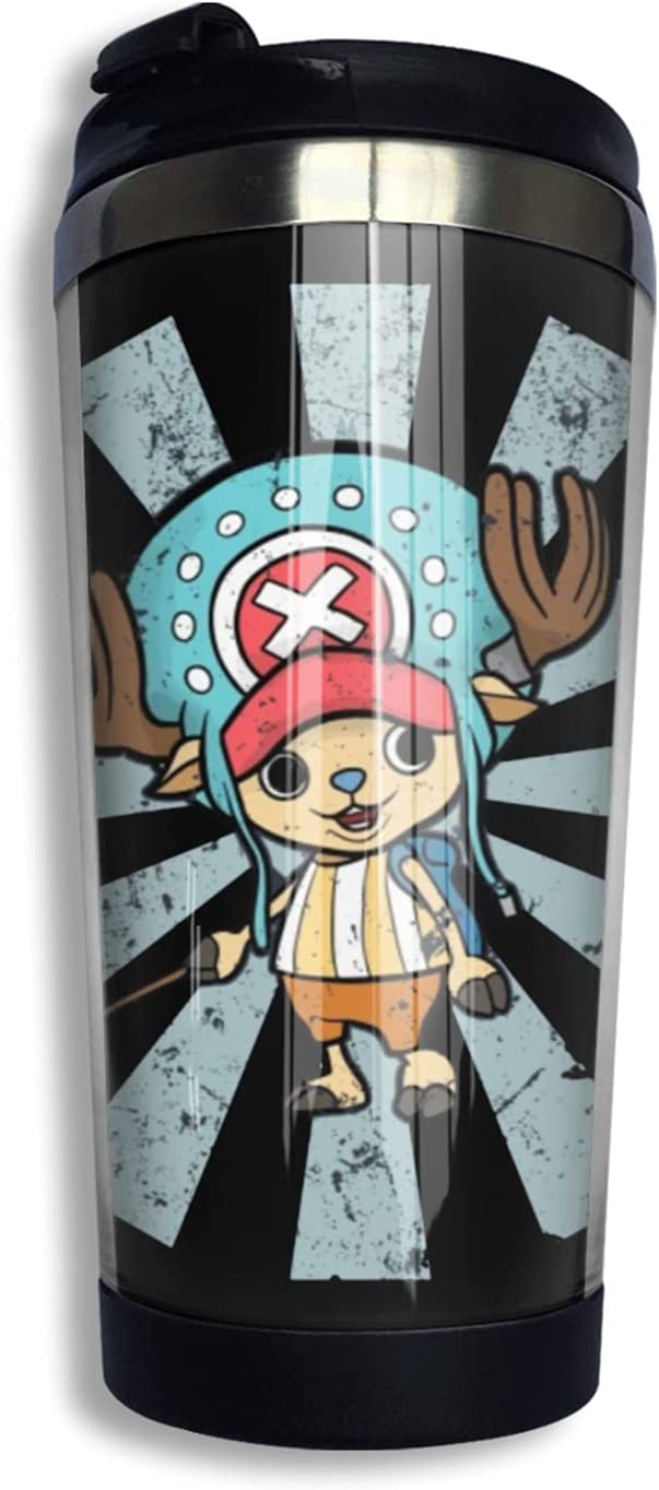 One Piece Tony Chopper Anime Coffee Raleigh Mall Cup Print Mu 3d Thermos Max 70% OFF