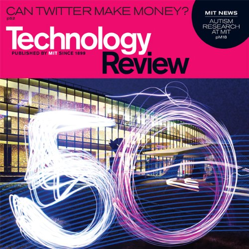 Audible Technology Review, March 2010 cover art