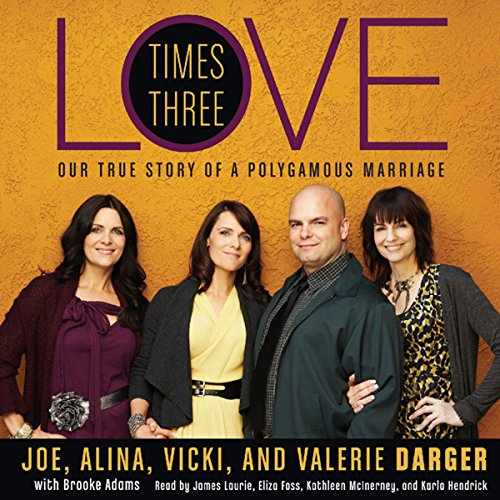 Love Times Three audiobook cover art