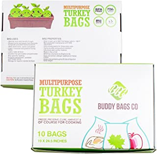 Buddy Bags Co Multipurpose Nylon Turkey Oven Bags - 19