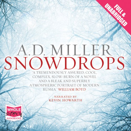 Snowdrops audiobook cover art