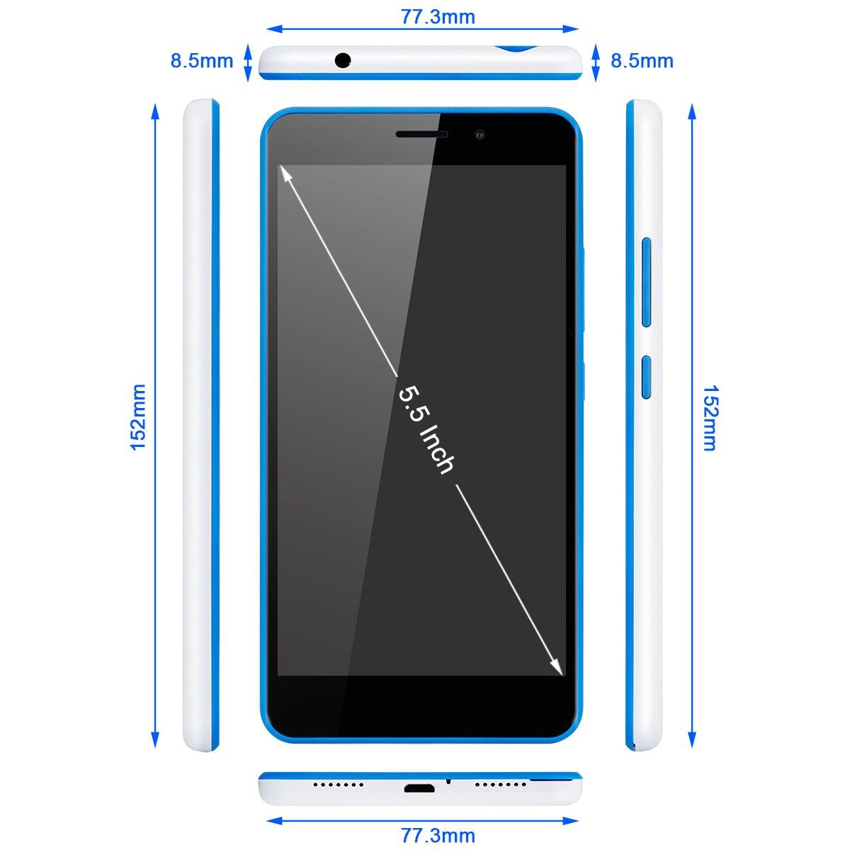 Thl T9 Pro - 4G Smartphone Libre Android 6.0 (Pantalla 5.5 Ips ...