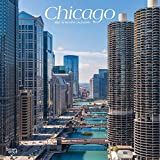 Chicago 2021 12 x 12 Inch Monthly Square Wall Calendar, USA United States of America Illinois Midwest City