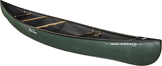 Old Town Discovery 169 Two-Person Recreational Canoe, Green, 16 Feet 9 Inches