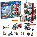 LEGO City - L'hôpital LEGO City - 60204 - Jeu de Construction