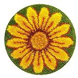 Kits de gancho de traba hechos a mano de bricolaje Alfombra Bordado Punto de cruz Cojín Alfombra Alfombra de felpa Alfombra de bricolaje Fabricación de alfombras Decoración para el hogar(ZD-123)