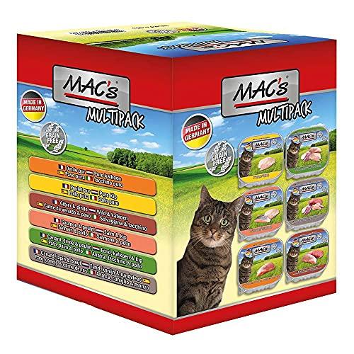 Mac\'s Katzenfutter getreidefrei Multipack, (6x85 g)