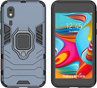 YEESOON Samsung Galaxy A2 Core Case, Dual Layer Hybrid Shockproof Protective Case with Ring Stand & Magnetic Car Mount Fun...