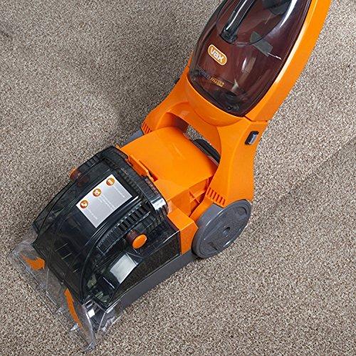 Vax Rapide Spring Carpet Washer, Cleaning Width 25 cm, 500 W - Orange