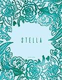 Stella Dot Grid Journal: Teal Notebook