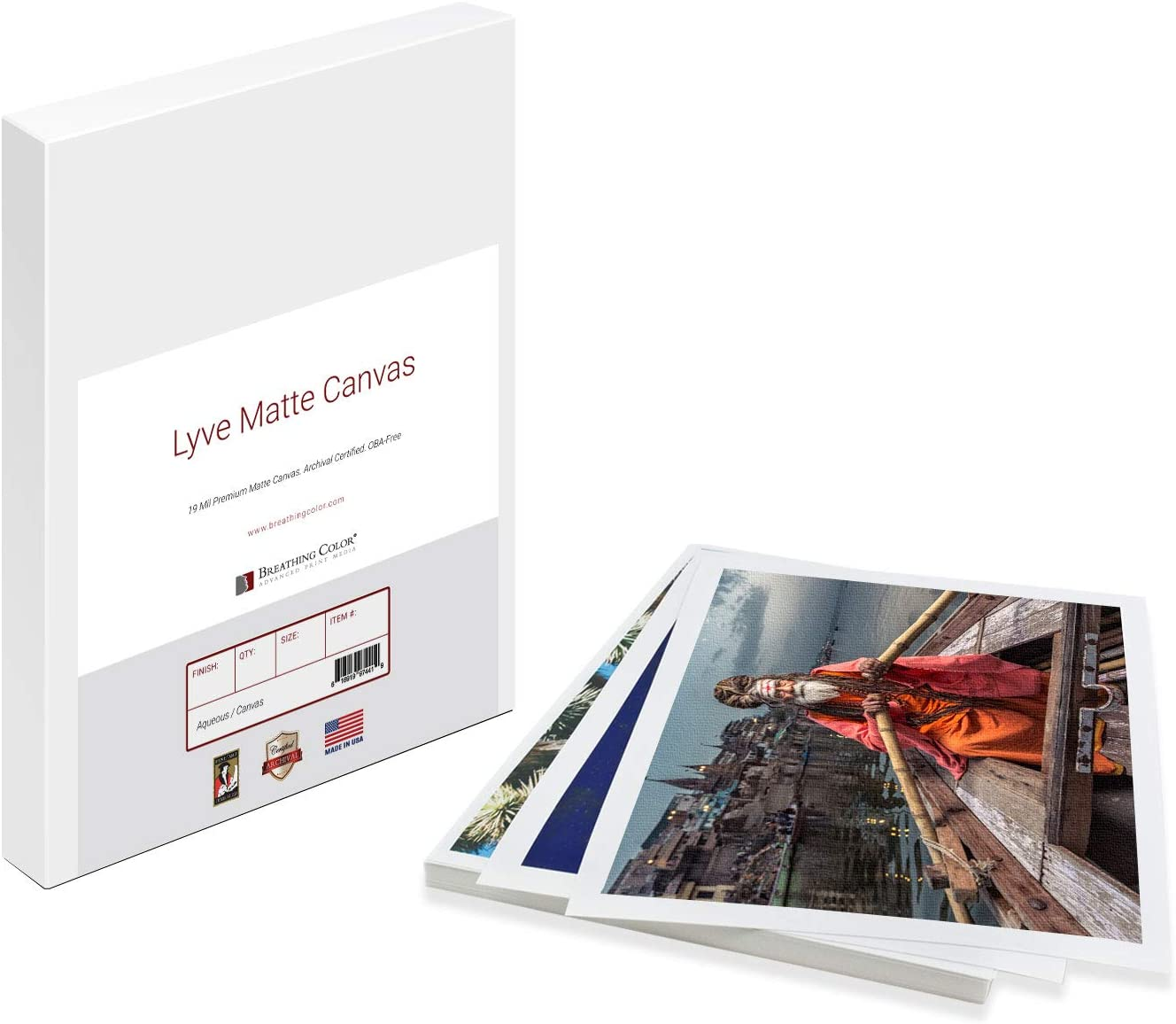Premium Lyve NEW before selling ☆ Matte Canvas Sheets Professionals for Archiv Time sale choice