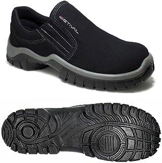 Sapato de Segurança Estival em Microfibra Preto/Cinza nº42 - WO10021S2