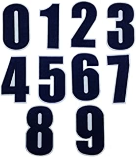 chenille numbers for letterman jackets