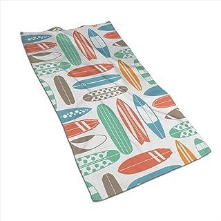 OneDay-Shop Coloratissimo Cane Zampa Stampa Stile Cartone Animato Spiaggia tiro con Nappe Asciugamani in Microfibra Tappeto da Picnic Tappetino Yoga per Donna Uomo 59 Pollici