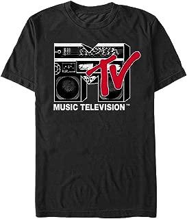 Fifth Sun MTV Men's Boombox Logo T-Shirt