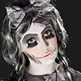 NET TOYS Cosméticos de muñeco Zombie Set Maquillaje gótico de muñeca Varias Unidades Pinturas muñequita Rota Colorete de Halloween Caracterización Disfraz de Terror Estilismo de Miedo