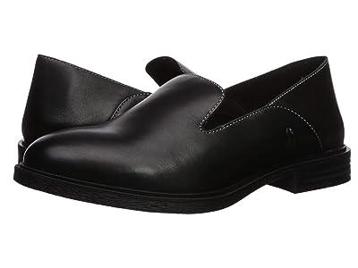 Hush Puppies Bailey Slip-On (Black Leather) Women