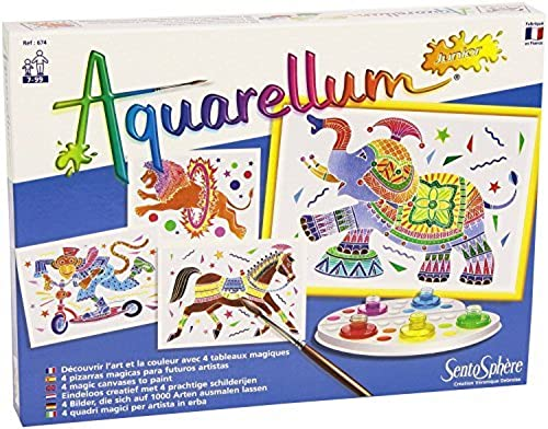 SentoSphere Aquarellum Junior - Circus - Arts and Crafts WaterFarbe Paint Set by SentoSphere