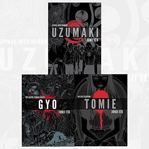 Price comparison product image Junji Ito Collection 3 Books Bundles (UZUMAKI 3-IN-1 DLX ED HC, GYO 2IN1 DLX ED HC)
