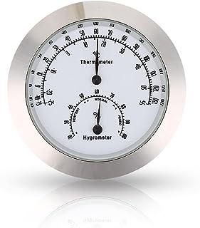 Forfar guitarra Viol/ín Term/ómetro Higr/ómetro Humedad Metro monitor de humedad