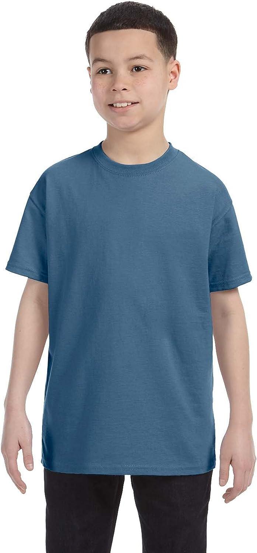 By Gildan Gildan Youth 53 Oz T-Shirt - Indigo Blue - XS - (Style # G500B - Original Label)