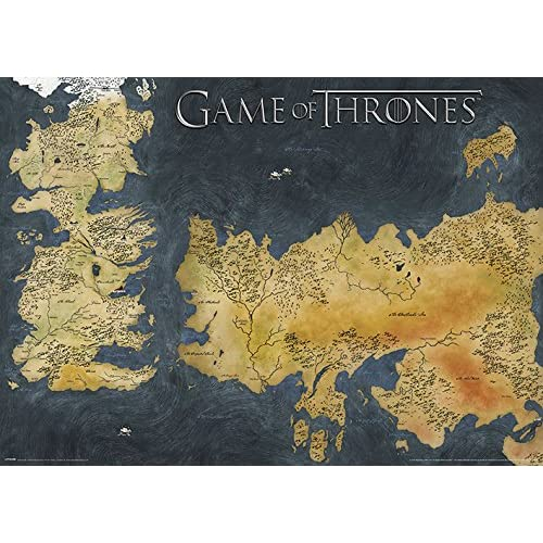 Game of Thrones Map: Amazon.co.uk Game Of Thrones Map Poster on game.of thrones s3 poster, silicon valley map poster, red dead redemption map poster, dark souls map poster, walking dead map poster, grand theft auto v map poster, supernatural map poster, united states map poster, community map poster, life map poster, fallout new vegas map poster, gravity falls map poster, skyrim map poster, world of warcraft map poster, hobbit unexpected journey map poster,