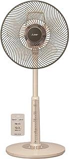 三菱電機 リビング扇風機 静音 スマート収納 R30J-RW-T リモコン 全閉型モーター ココアベージュ
