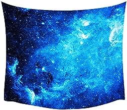 ZGQQQ Comwarm Sueño Aurora Dormitorio Decoración Pared Colgante Tropical Bosque Salvaje Tapiz Estrellado Plantas Impresión Poliéster Playa Toalla 150 * 200CM 3