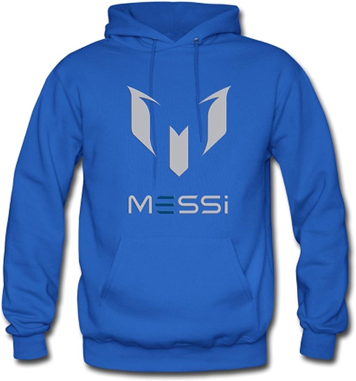 Mens Air Messi Logo Hoodie Sweatshirt Jacket blueee