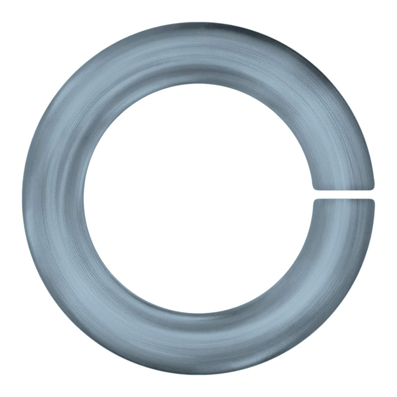 Weave Got Maille 18-Gauge 7mm Gunmetal Anodized Aluminum Jump Rings - 1 Ounce, rezgylyoah656