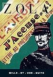 J'accuse by Emile Zola (1998-01-21) - Mille et Une Nuits - 21/01/1998