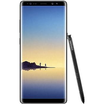 Samsung Galaxy Note 8 64GB Verizon + GSM Unlocked (Midnight Black) (Renewed)