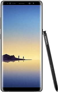 Samsung Galaxy Note 8 64GB Verizon - Midnight Black (Renewed)
