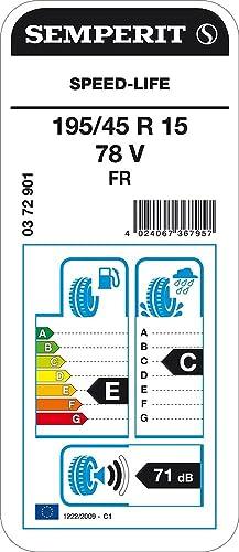 Semperit Speed Life Fr 195 45r15 78v Sommerreifen Auto
