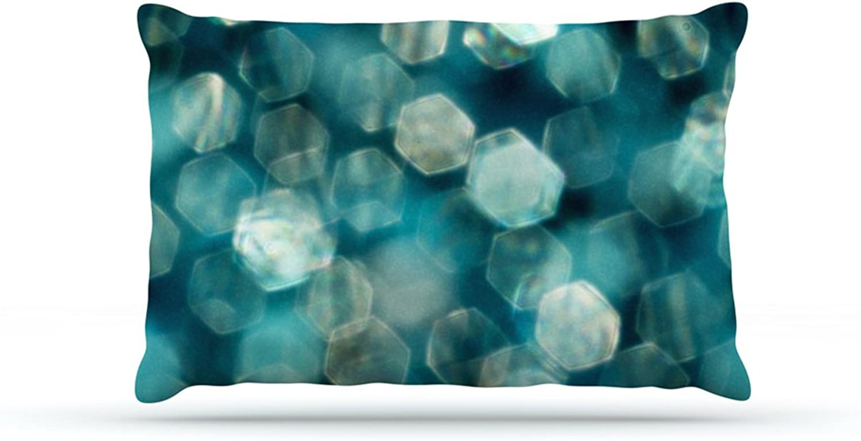 Kess InHouse Ingrid Beddoes Warm Sparkle  Fleece Dog Bed, 30 by 40Inch