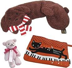 ドッグショルダーピロー と 猫のポーチ(レッド)&ミニマスコットのセット
