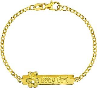 مجوهرات إن سيزون 925 الفضة الاسترليني بيبي آي آي سوار قطار تيدي بير طفل ولد فتاة هدية الولادة حديثي الولادة 5.5 بوصة